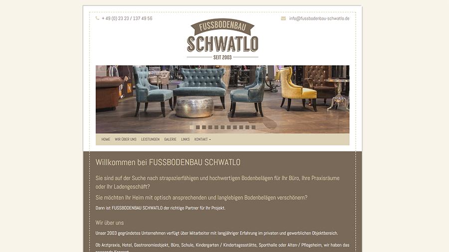 Fussbodenbau Schwatlo