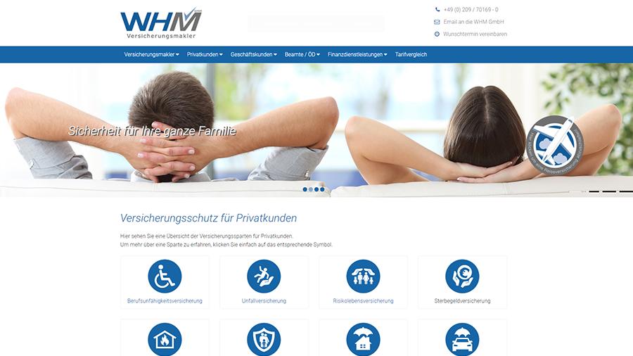 WHM Versicherungsmakler GmbH