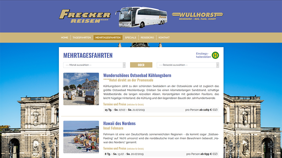 Frecker-Reisen GmbH