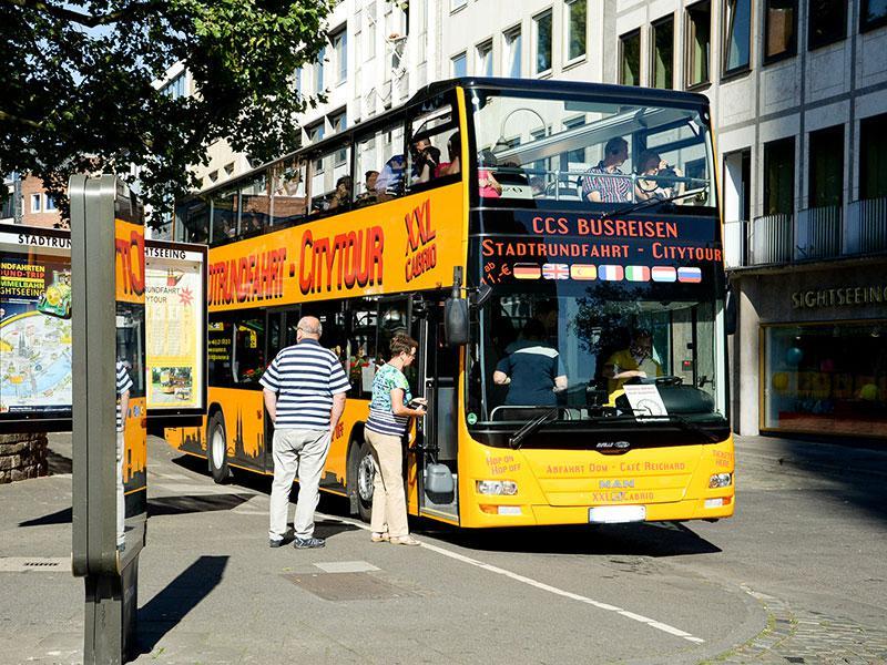 XXL-Cabrio Köln CCS-Busreisen