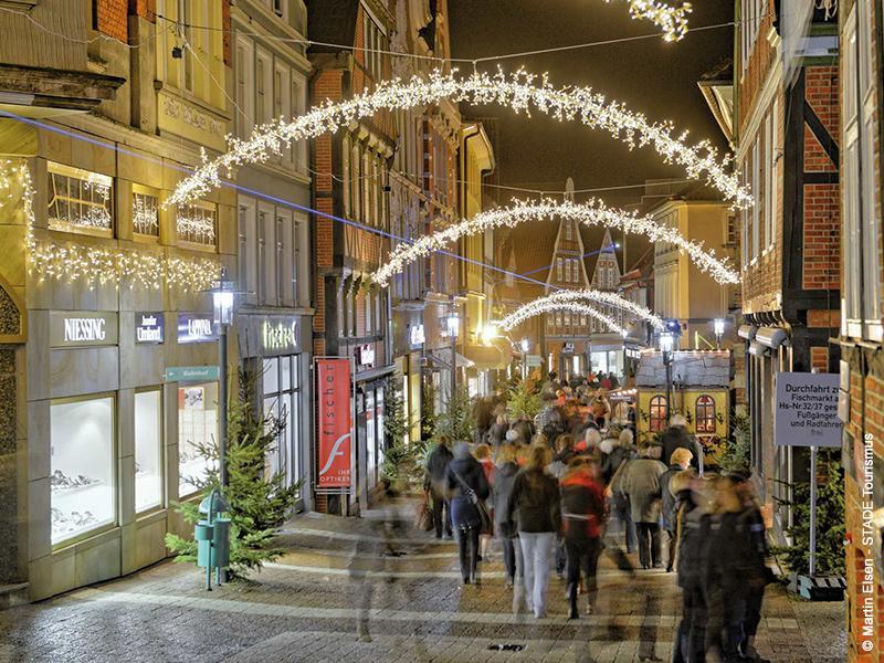 Stade - Weihnachts- und Adventsflair in der historischen Hansestadt