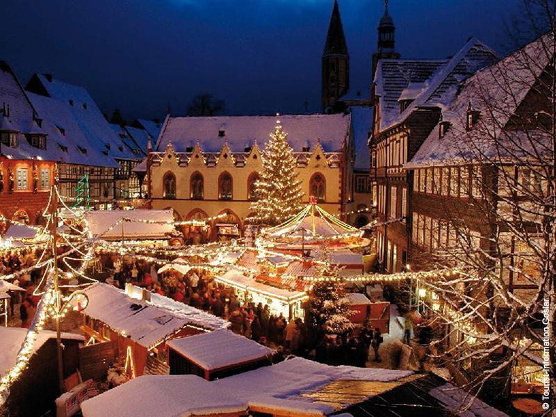 Weihnachtsmarkt in Kassel, Goslar, Wernigerode