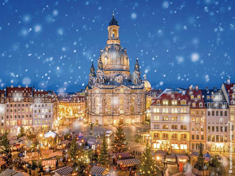 Bergmannsweihnacht im Erzgebirge und Striezelmarkt Dresden