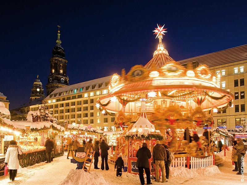 Leipzig und Dresdener Striezelmarkt