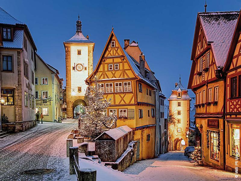 Silvesterzauber im winterlichen Bad Windsheim